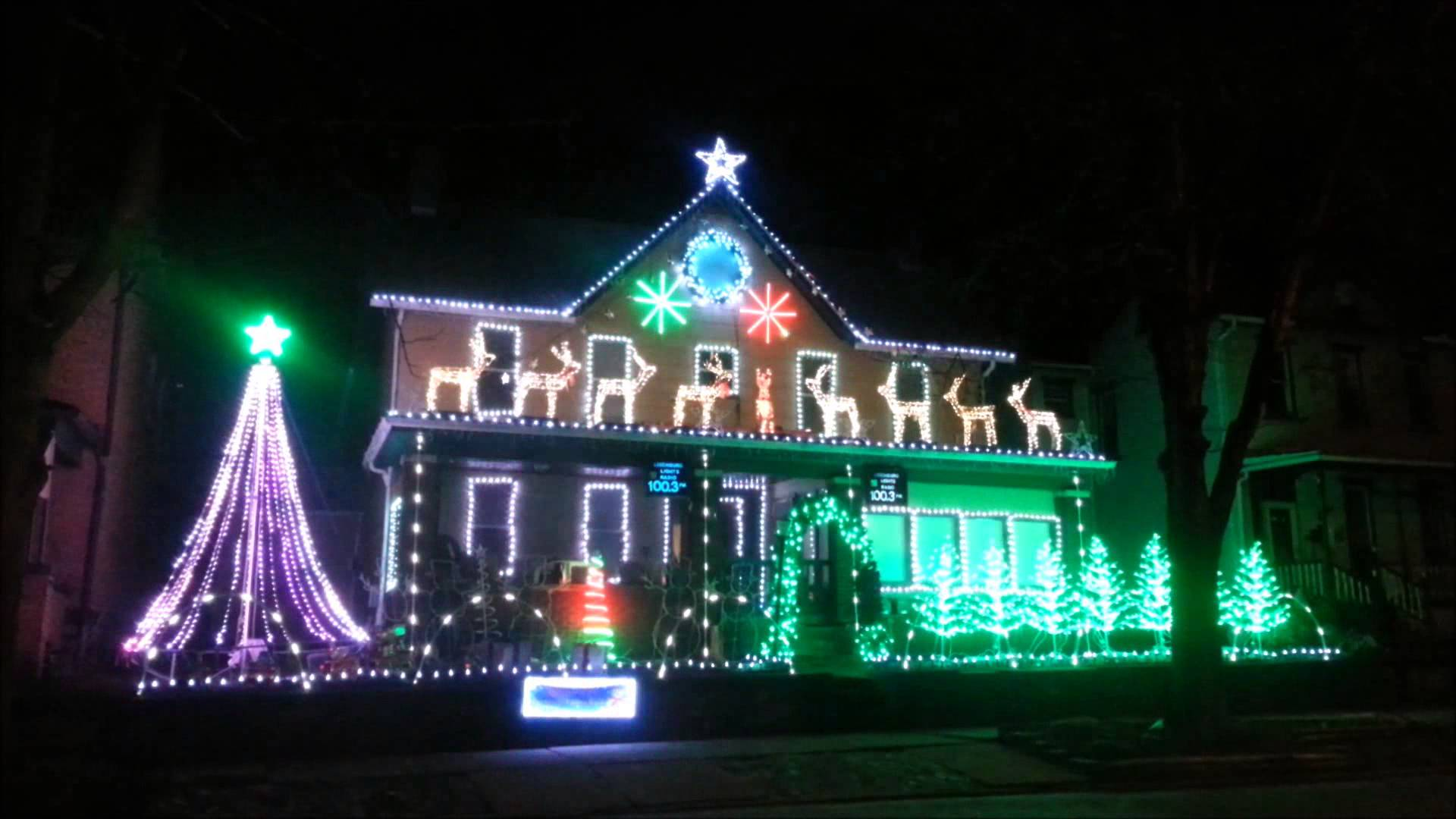 leechburg lights annual display