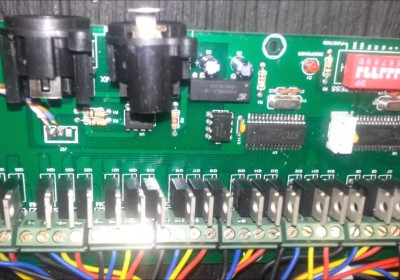 Building a 27 Channel EASY DMX controller for RGB display part 2