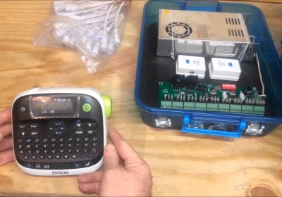Building a 27 Channel EASY DMX controller for RGB display part 1