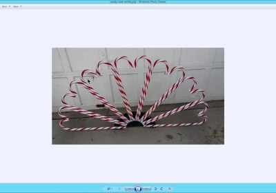 Custom Candy Cane Arch Setup in Nutcracker V4