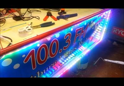 New Radio Sign RGB