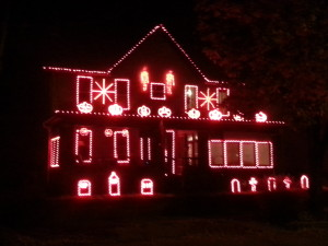 Leechburg Lights Halloween Display