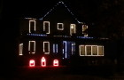 2015 Leechburgh Lights Halloween Display