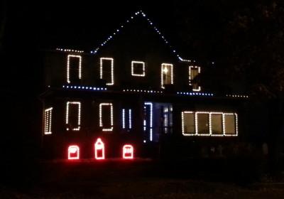2015 Leechburgh Lights Halloween Display