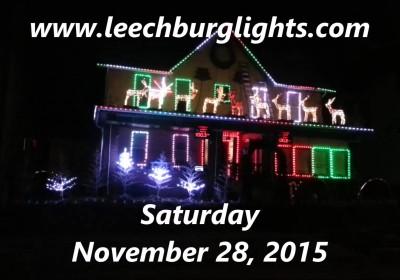 Join us for the Leechburg Light-Up Night